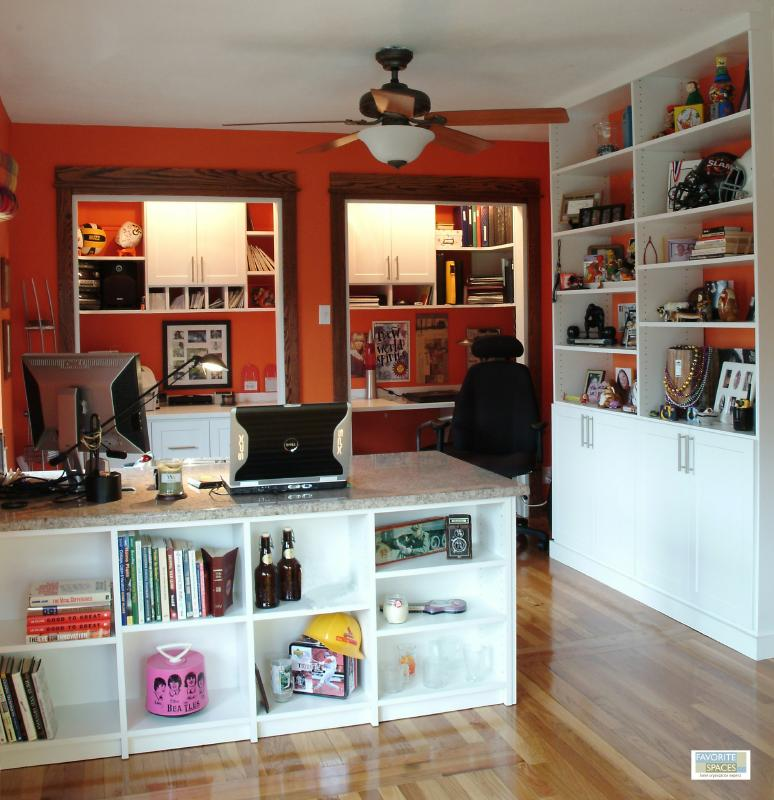 Home office solutions combine the ambiance of home with for Unique home solutions job review